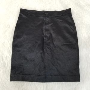 Dresses & Skirts - American Apparel Black Bodycon Galaxy Mini Skirt